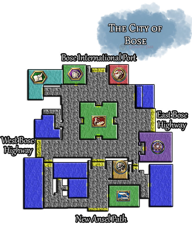 The City of Bose Map