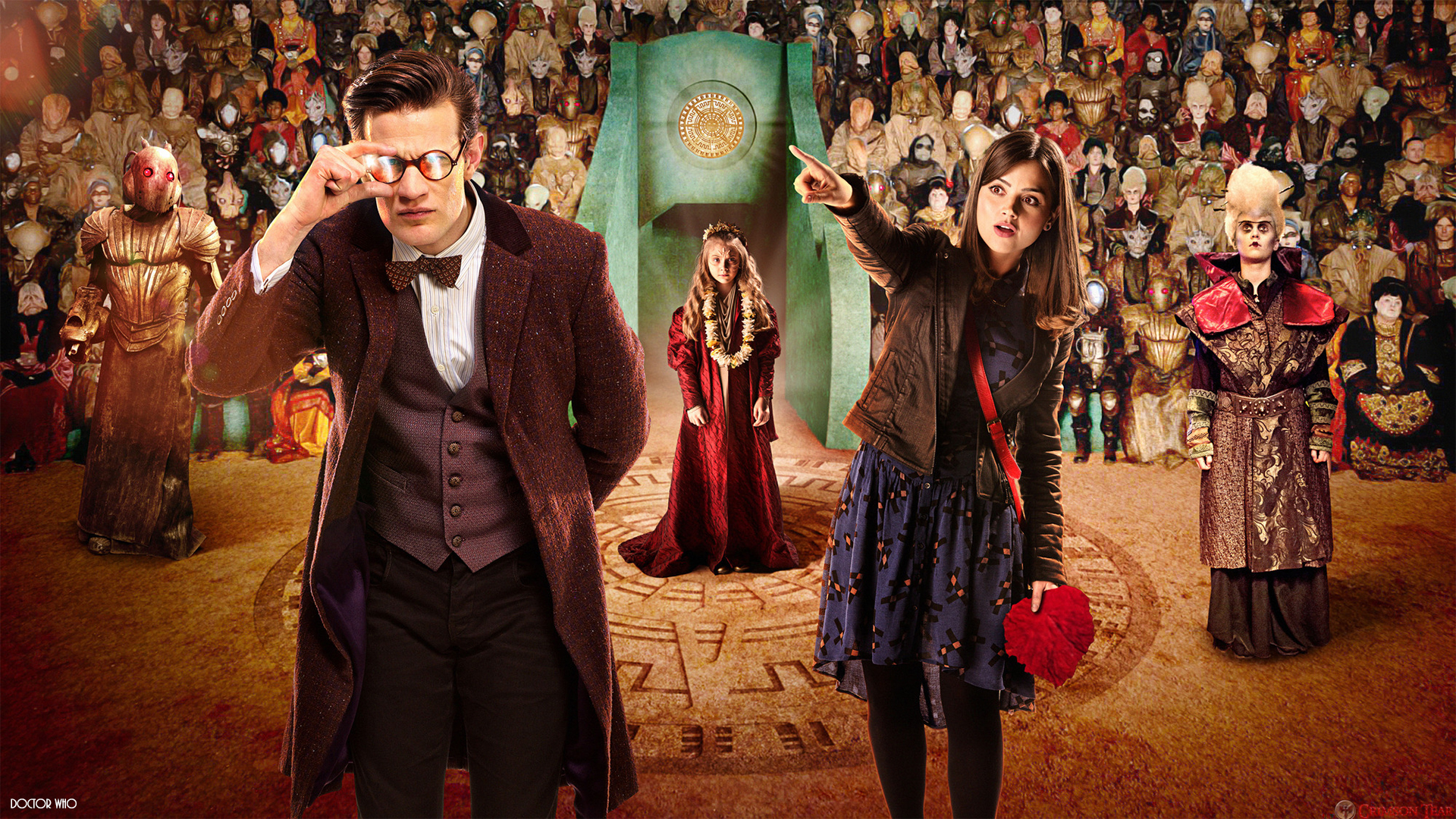 Doctor Who: The Rings Of Akhaten Wallpaper